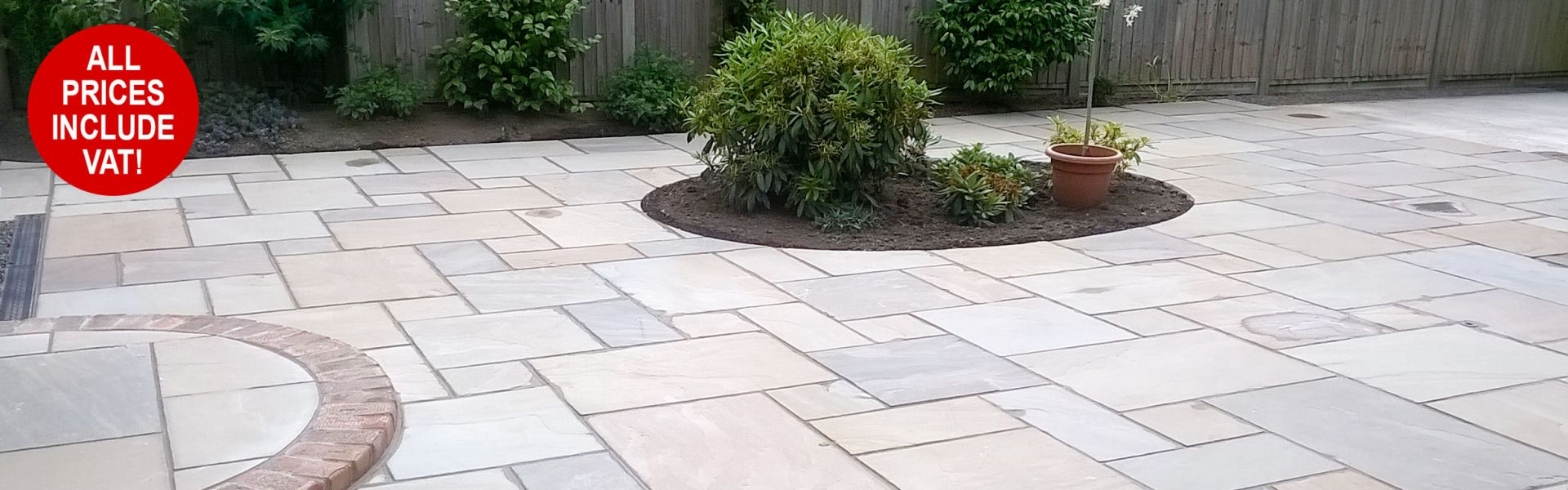 Sandstone Paving ONLY £19.35 per mtr