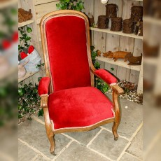 French Saloon Chair