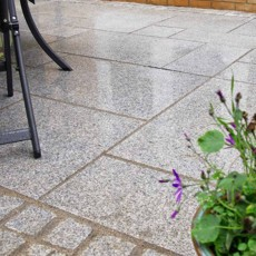 Granite Silver Grey Paving per mtr