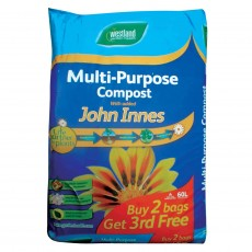 Multi-Purpose Compost with added John Innes 60ltr