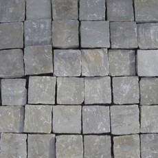 Grey Sandstone Cobble 100x100mm