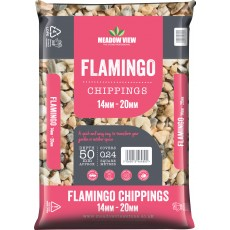 Flamingo Chippings 20mm Midi Bag