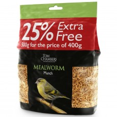 Tom Chambers Mealworm Munch 500g