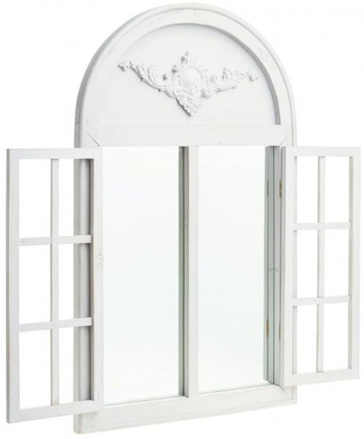 French Style Arch Shutter Mirror