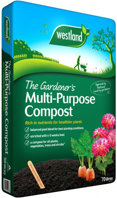 The Gardeners Multi-Purpose Compost 70ltr