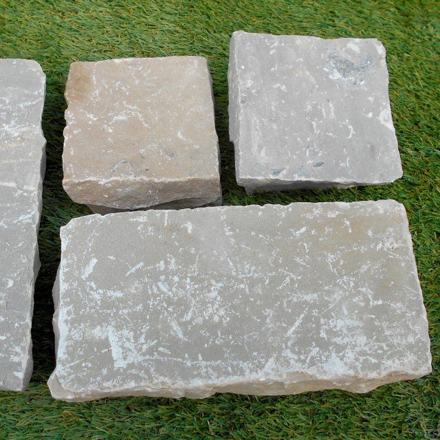 Raj Sandstone Cobble 100x200mm