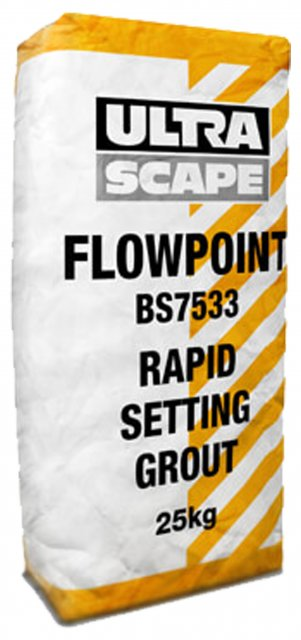Flowpoint Rapid Setting Grout Smooth 25kg