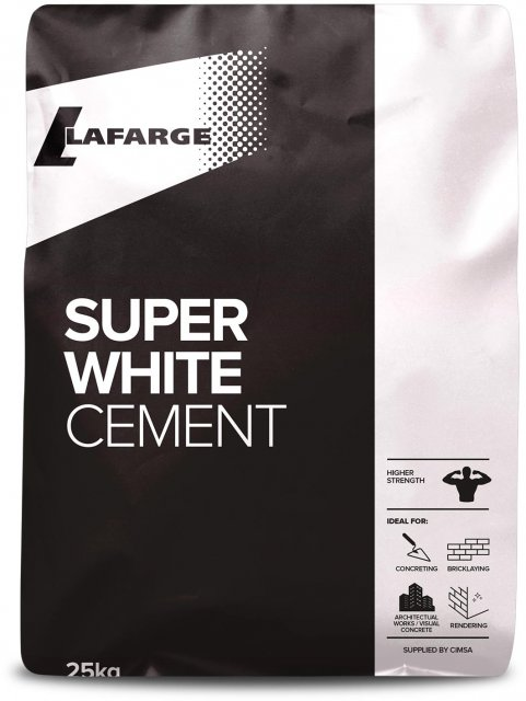 Super White Cement 25kg